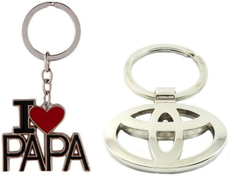 Alexus Papa And Toyota Key Chain