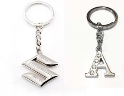 Rashi Traders Maruti Suzuki & Alphabet A Key Chain