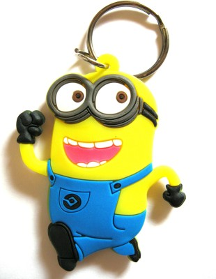 Optimum Deal Cute Cartoon Character Double Sided Rubber Key Chain