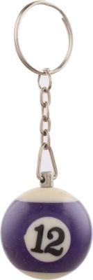 JLT Lucky Number 12 Key Chain