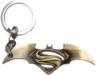 Chainz Batman Vs Superman Bronze Metal Key Chain