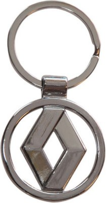 Confident Renault Chrome Plated Steel Imported Key Chain