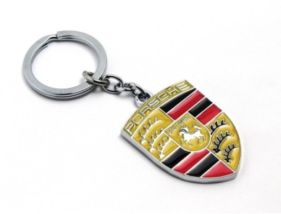 Turban Toys Full Metal Porsche Key Chain