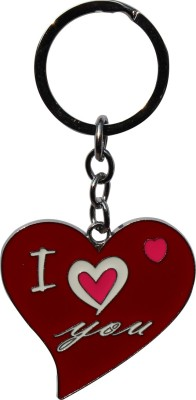 Anishop Valentine Gift Heart I Love You Key Chain