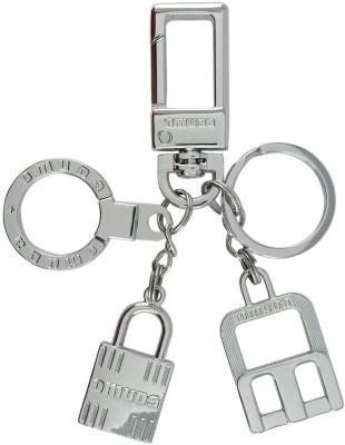 VeeVi Omuda Silver Lock Hook Key Chain Locking Carabiner