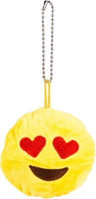 The Crazy Me Emoji Heart Eyes Key Chain