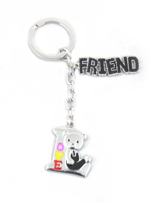 ShopeGift Teddy Love Friend Metal Key Chain