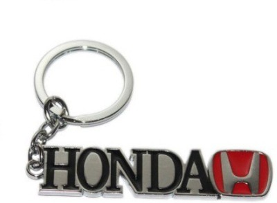 Ezone Full Metal Honda Logo Key Chain(Multicolor) Key Chain