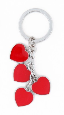 THINKSTERS 4 Red hearts keychain Carabiner