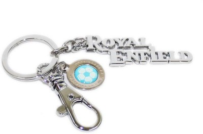 Aura Imported Royal Enfield Football Soccer Limited Edition Key Chain