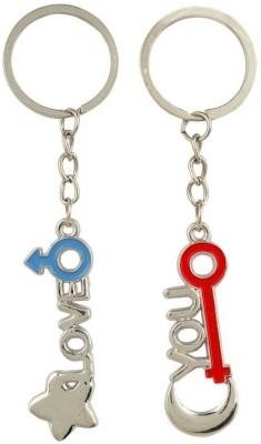 Anishop Valentine Love You Couple Key Chain