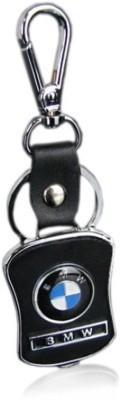 Zeroza BMW Leather Metal BW04 Locking Key Chain