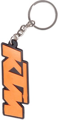 Confident Non Metal MVP179 KTM Letter Key Chain(Red)
