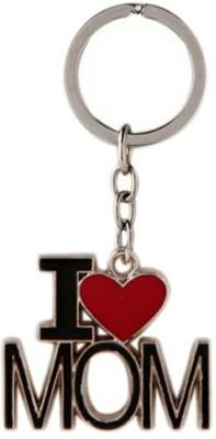 Mapple i love mom metal keychain Carabiner