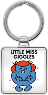 That Company called If LITTLE MISS GIGGLES KEYRING Key Chain
