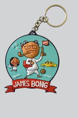 Chimp James Bong Key Chain