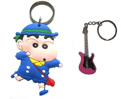 Optimum Deal Cute Cartoon Character (M12) Double Sided Rubber Key Chain