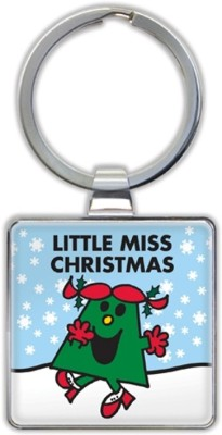 That Company called If Little Miss Christmas Keyrings Key Chain