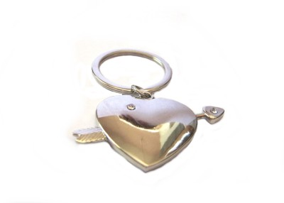 Optimum Deal Cute Heart Shaped Metal Key Chain