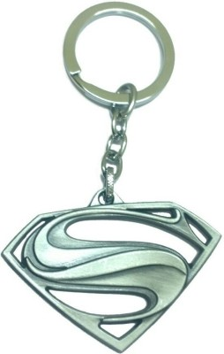 Mapple SUPER MAN SILVER.jpeg Key Chain