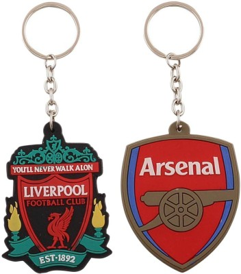 Confident Liverpool And Arsenal Ultimate Key Chain