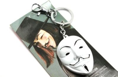 SRPC Vendetta ANONYMOUS GUY Mask Locking Key Chain