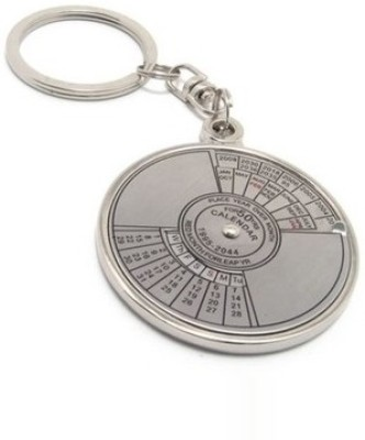 Parrk Calendar with Date Perpetual up-to 50 Years Key Chain