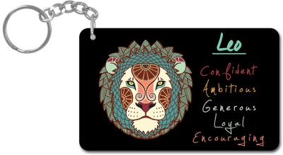 Lovely Collection Zodiac Sign Leo Key Chain