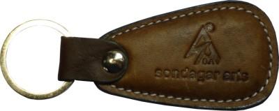 Sondagar Arts Pure Leather Mens Key Chain