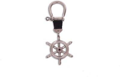 Home Sparkle Ship Wheel Key Chain