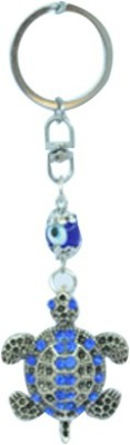 Kriti Creations Tortiose Turkish Evil Eye Key Chain