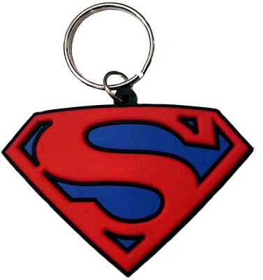 Confident Supperman Non Metal Key Chain