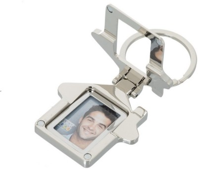 Gadge HUT SHAPE KEYCHAIN WITH PHOTO FRAME AND MOBILE STAND (MAGNETIC) Key Chain