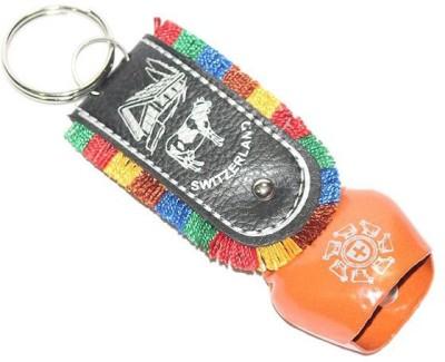 Aura Big DDLJ Cowbell Cow Bell Locking Key Chain