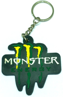 AA Retail Monster Energy Soft Rubber Key Chain