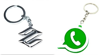 99DailyDeals R90 Combo Of 2 Whatsapp And Maruti Krychain Key Chain