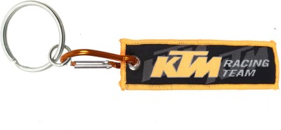 JM's Ktm Racing Team Locking Key Chain