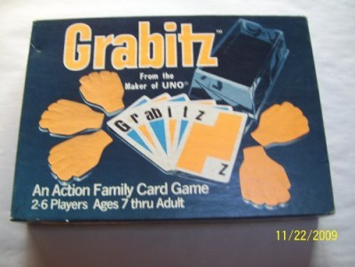 International Games Inc. Grabitz From The Maker Of Uno