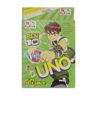 Switch Control Mattel Ben 10 UNO Cards(Multicolor)