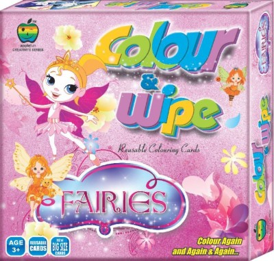 Lotus Apple Fun Colour & Wipe Fairies