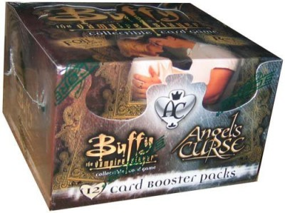 SCORE Buffy The Vampire Slayer Angel,S Curse Booster Box