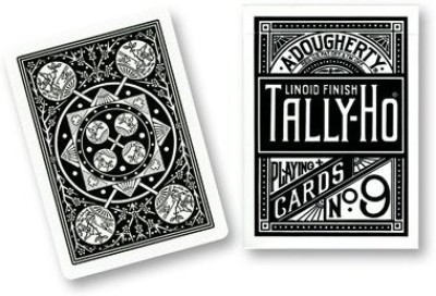 US Playing Cards Tally Ho Fan Back Playingred Or Blue