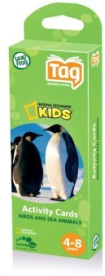 LeapFrog Tag National Geographic Kids Activity Birds And Sea Animals