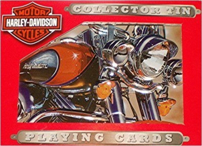 Harley-Davidson Harley Davidson Collector Tin With 2 Decks Of Playing Cards