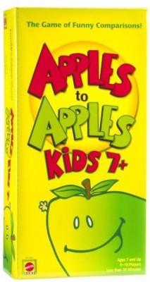 Mattel Apple To Apples Kids 7 Plus The Of Crazy Comparisons