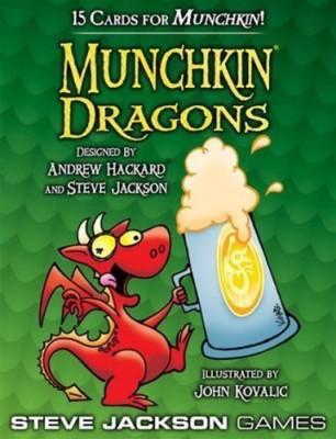 Steve Jackson Games Munchkin Dragons Booster Pack