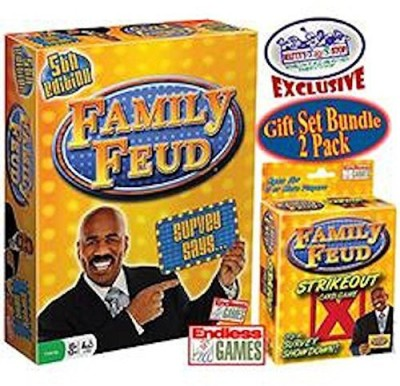 Endless Games Family Feud 5Th Edition & Family Feud Strikeout Deluxe