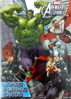 Marvel Comics the Avengers Assemble Jumbo Playing Cards