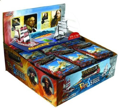 WizKids Pirates Of The Cursed Sea Fire Steel Booster Pack