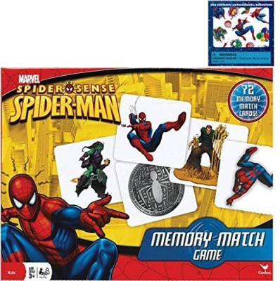 Marvel Spiderman Holiday Gift Set For Kids 1 Spiderman Memory